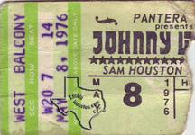 Johnny Winter - May 8, 1976 at Sam Houston Coliseum