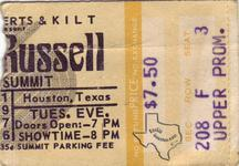 Leon Russell - May 25, 1976 at The Summit