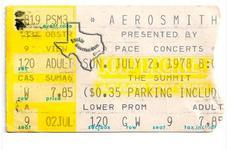 Aerosmith - Jul 2, 1978 at The Summit