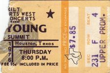 Neil Young - Nov 11, 1976 at The Summit