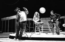 Saturday Night Live Cast (John Belushi, Dan Aykroyd, Jane Curtain, Laraine Newman, Garret Morris & Gilda Radner) - Aug 3, 1976 at Miller Outdoor Theater