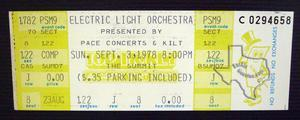 Electric Light Orchestra - Sep 3, 1978 at The Summit