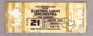 Electric Light Orchestra - Mar 21, 1977 at The Summit