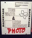 Tom Waits - Dec 3, 1978 at Cullen Auditorium