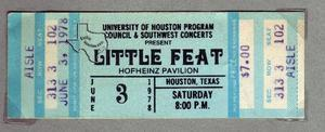 Little Feat - Jun 3, 1978 at Hofheinz Pavilion