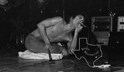 Iggy Pop - Nov 30, 1977 at Cullen Auditorium