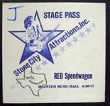 REO Speedwagon - Jun 20, 1977 at Houston Music Hall