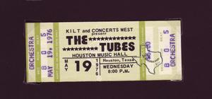 Tubes - May 19, 1976 at Houston Music Hall
