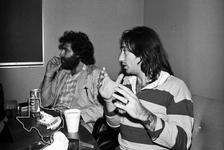 Kevin Godley & Lol Creme (10CC) - Dec 1, 1977 at KLOL Radio