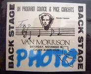 Van Morrison - Nov 18, 1978 at Houston Music Hall