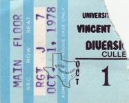 Vincent Price - Oct 1, 1978 at Cullen Auditorium