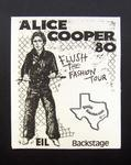 Alice Cooper - Jun 25, 1980 at Beaumont Civic Center