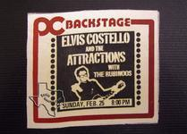 Elvis Costello - Feb 25, 1979 at Cullen Auditorium
