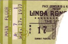Linda Ronstadt - Nov 17, 1977 at The Summit