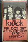 The Knack - Oct 26, 1979 at Cullen Auditorium
