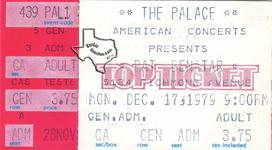 Pat Benatar - Dec 17, 1979 at The Palace