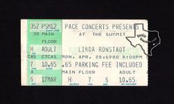 Linda Ronstadt - Apr 28, 1980 at The Summit