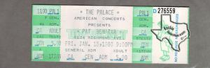 Pat Benatar - Jan 18, 1980 at The Palace