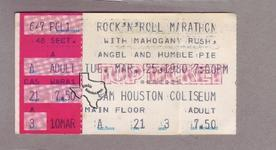 Steve Marriott - Mar 25, 1980 at Sam Houston Coliseum