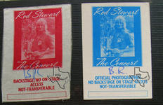 Rod Stewart (also see Faces) - Nov 25, 1977 at Baton Rouge, Louisiana