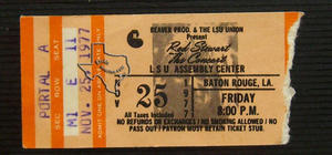 Rod Stewart - Nov 25, 1977 at Baton Rouge