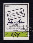 Genesis - Aug 14, 1982 at The Summit