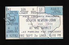 Olivia Newton John - Sep 3, 1982 at The Summit