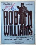 Robin Williams - Jun 4, 1982 at Houston Music Hall