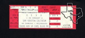 Devo - Nov 19, 1981 at Sam Houston Coliseum