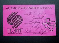 BB King - Mar 29, 1981 at The Summit