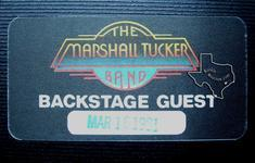 Marshall Tucker - Mar 16, 1981 at Beaumont Civic Center