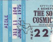 Son of Cosmic Cowboy - Jun 22, 1975 at Hofheinz Pavilion