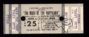 Night of the Hurricane Benefit Concert [Bob Dylan, Stevie Wonder, Carlos Santana, Stephen Stills, Ringo Starr, Isaac Hayes] - Jan 25, 1976 at Houston Astrodome