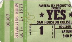 Yes - Oct 1, 1977 at Sam Houston Coliseum