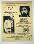 Randy Newman - Oct 16, 1977 at Paramount Theatre, Austin, Texas