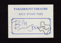 Billy Joel - Oct 16, 1977 at Paramount Theatre, Austin, Texas