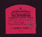 Texas World Music Festival (Texas Jam) - Houston - Jul 18, 1981 at Houston Astrodome