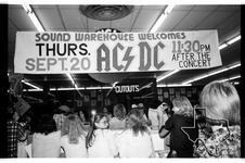 AC/DC - Sep 20, 1979 at Sound Warehouse