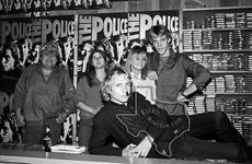 The Police - Nov 1, 1979 at Cactus Records