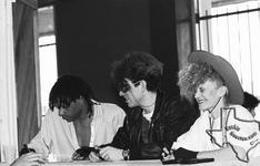 Thompson Twins - 1983 at Sound Warehouse