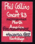 Phil Collins - Jan 22, 1983 at Houston Music Hall