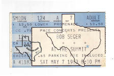 Bob Seger - May 7, 1983 at The Summit
