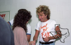 Rod Stewart (also see Faces) - Oct 19, 1984 at Dallas Reunion Arena