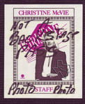 Christine McVie - Jun 9, 1984 at Houston Music Hall
