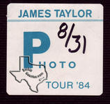 James Taylor - Aug 31, 1984 at The Summit