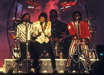 Jacksons [Jackson 5, Michael Jackson] - Nov 9, 1984 at Houston Astrodome