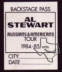 Al Stewart - Dec 13, 1984 at Nitemoves