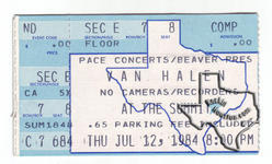 Van Halen - Jul 12, 1984 at The Summit