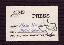ARMS Tour (Beck, Clapton, Page, Cocker, Wyman, Lane & Rodgers) - Dec 10, 1984