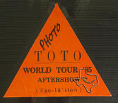 Toto - Mar 28, 1985 at The Summit